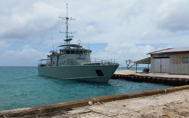 The Cook Islands marine patrol vessel, Te Kukupa