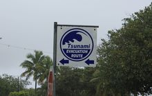 Cook Islands tsunami evacuation centre