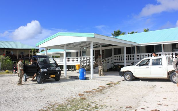 The refurbished hospital on Penrhyn, Cook Islands