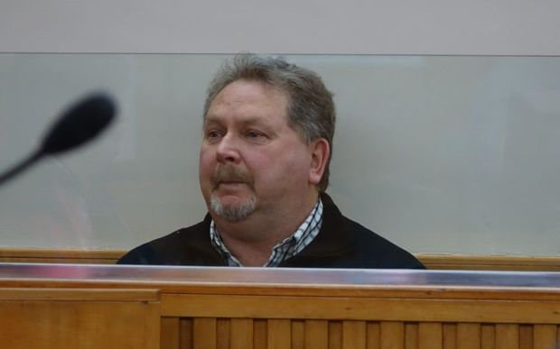 Stephen Long in the Invercargill District Court today.