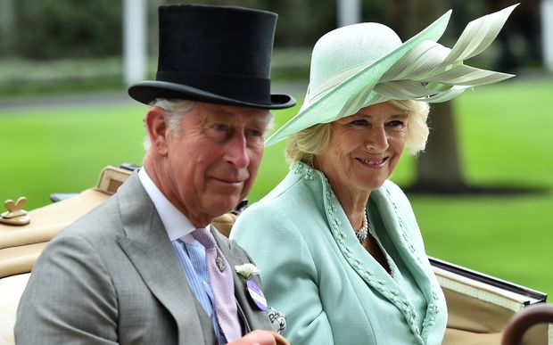 Prince Charles and his wife, Camilla, Duchess of Cornwall.