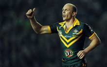 Australian Rugby League legend Darren Lockyer.