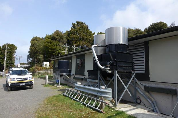 Stewart Island power station.