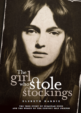 The Girl Who Stole Stockings front cover