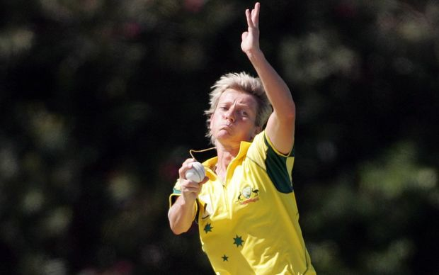 Former Australian women's cricket player and coach Cathryn Fitzpatrick.
