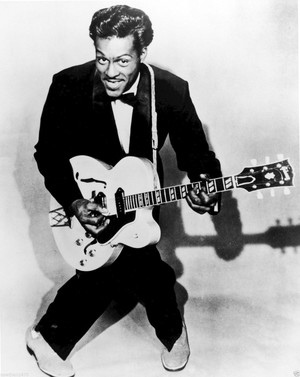 Chuck Berry in 1957