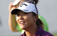 Lydia Ko of New Zealand at the LPGA tour event in South Korea. 2015.