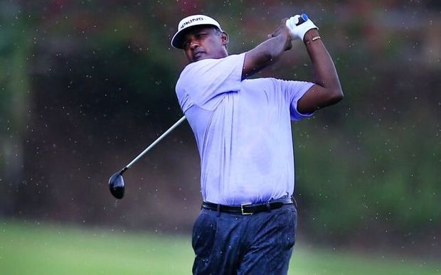 Vijay Singh during the Fiji International.