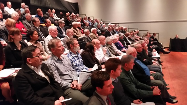 Shareholders at Genesis Energy's annual general meeting on 20 October.