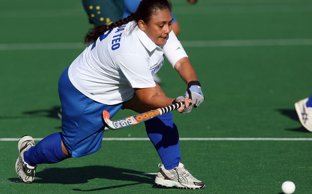 Samoa women's hockey captain Peta Mualia Teo.