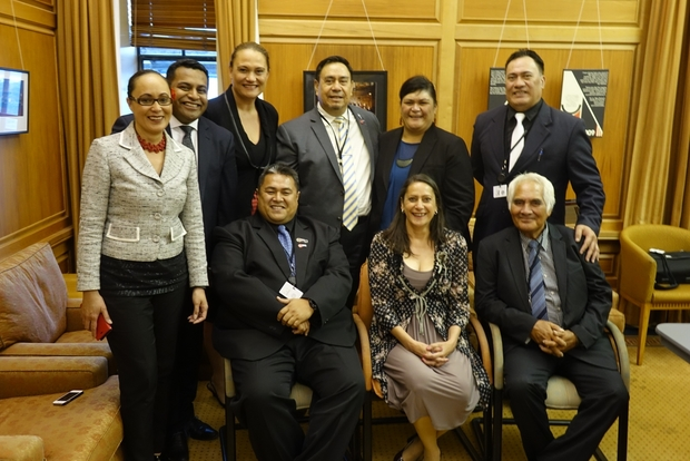 Cook Islands MPs meet with Labour Pasifika caucus.