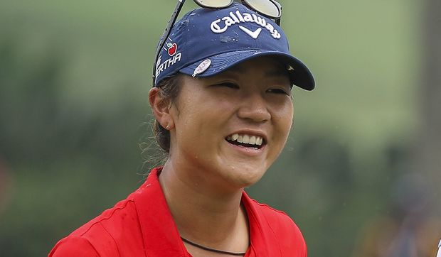 The New Zealand golfer Lydia Ko.