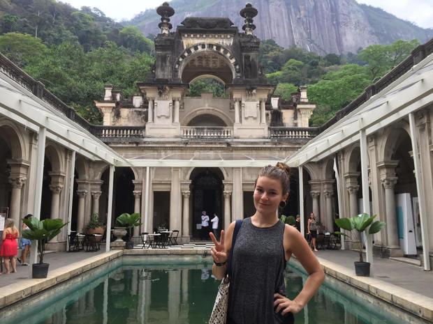 Laura McQuillan in Brazil