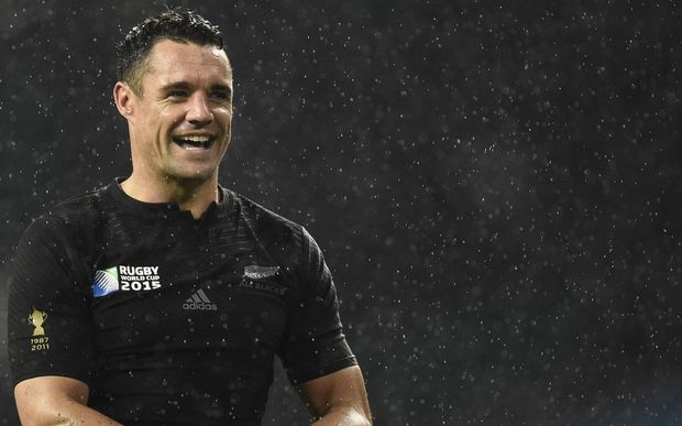 Dan Carter after the All Blacks' semi-final win against South Africa