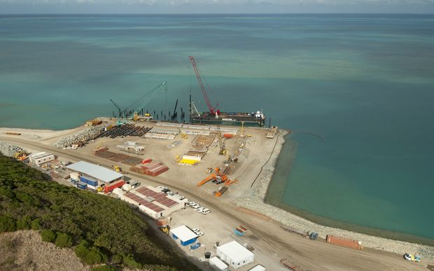 New Caledonia's Vavouto Port