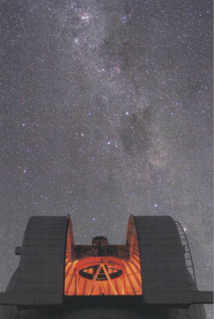 MOA 2, a telescope at the Mt John Observatory at Lake Tekapo, monitors a patch of the Southern Hemisphere sky for microlensing events.