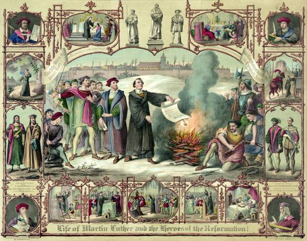 Life of Martin Luther and the heroes of the Reformation