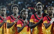 Papua New Guinea won a fourth consecutive Pacific Games gold medal in women's football in Port Moresby.