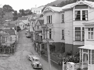 Ascot Terrace from Sydney St West, 1972