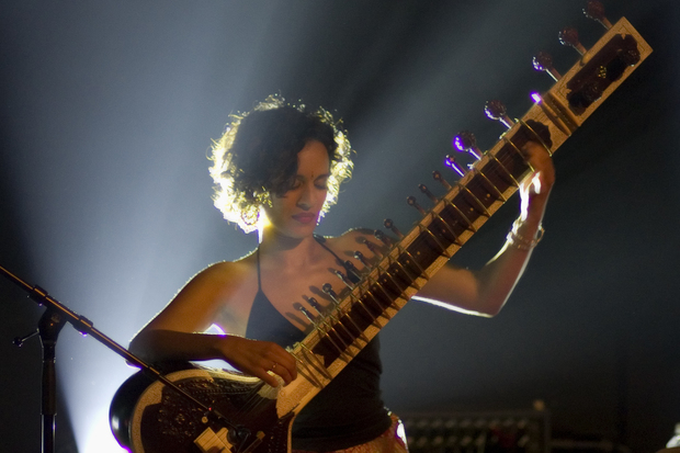 Anoushka Shankar at the Global Rhythm 15th Anniversary Party