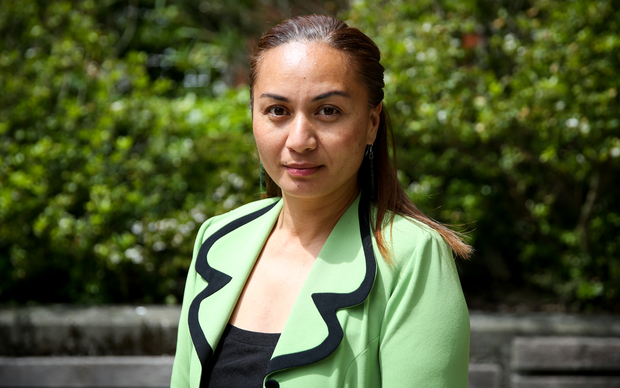 Green Party MP, Marama Davidson.