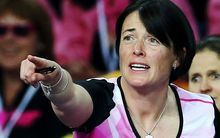 Southern Steel coach Janine Southby who coached the New Zealand team at the international Fast Five series in January.