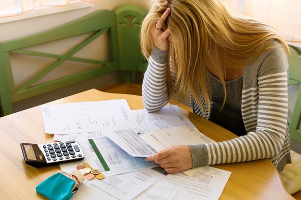 'Amber alert' over household debt levels