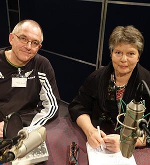 Nicholas Boyak and Jane Tolerton.