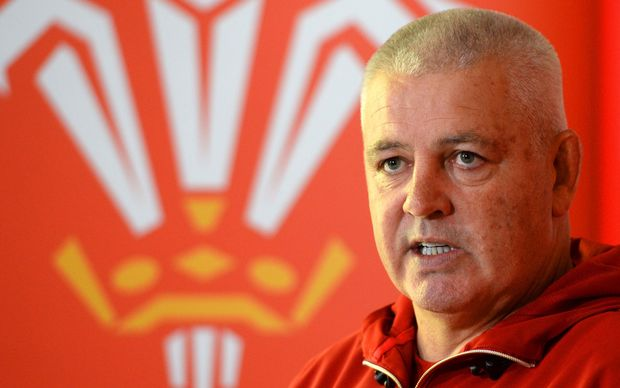Warren Gatland who took Wales to the quarter finals of the recent World Cup.