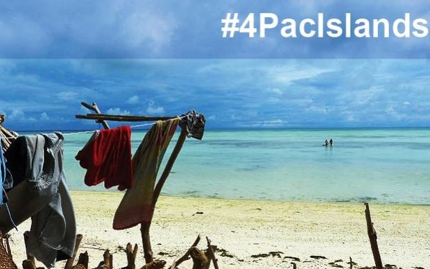 People in the Pacific are being called on to share stories of how they've been impacted by climate change with #4PacIslands