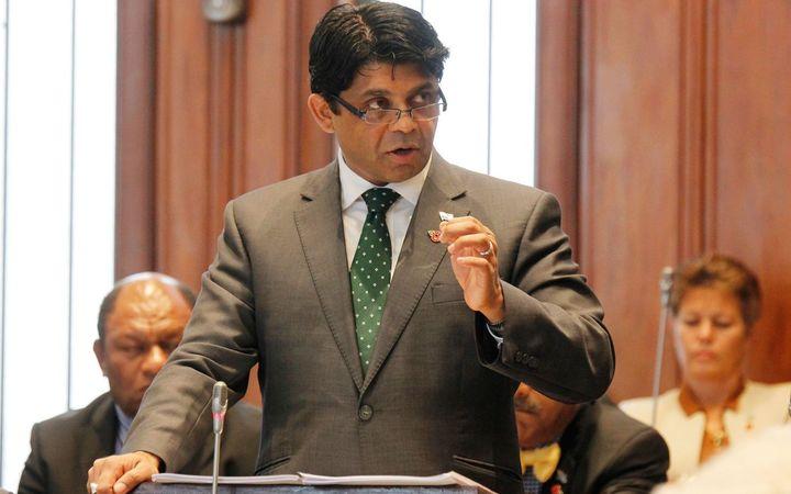 Fiji's Finance Minister, Aiyaz Sayed-Khaiyum.
