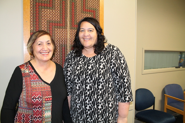 Christine Brears (CEO) and Frana Chase (Whanau Ora Manager) at Kokiri Trust