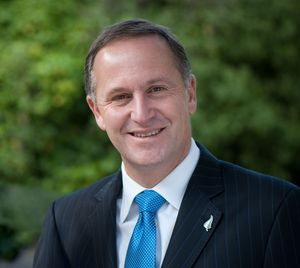 John Key has been caught out by his positive spin.