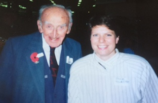 Bert Stokes with Jane Tolerton