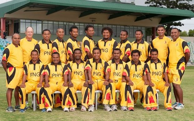 The PNG Barramundi's cricket team touring the UAE in November.