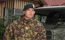 Detained New Zealander Ko Haapu.