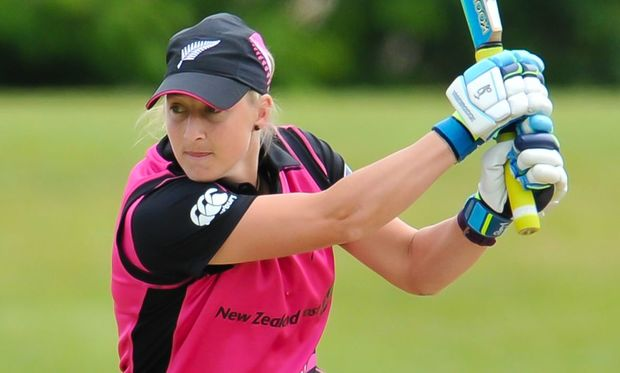 Sophie Devine top scored in Christchurch with 54.