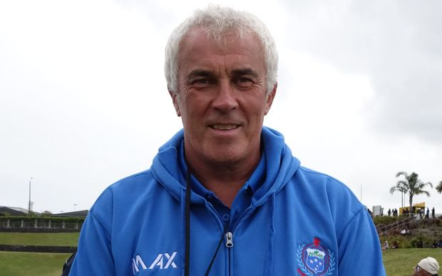 Samoa men's sevens coach Damian McGrath.