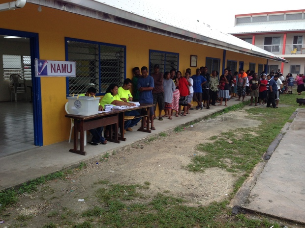 Marshall Islands voters going to the polls in 2015 to elect national and local leaders.