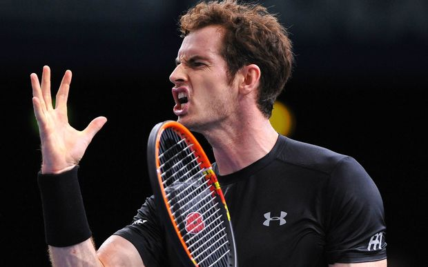 The British tennis player Andy Murray.
