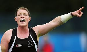 Black Sticks striker Katie Glynn