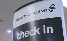 Check-in for Air New Zealand flights