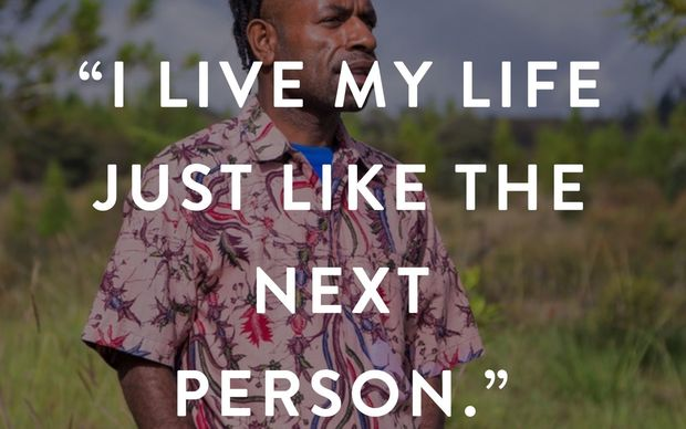 Wesley from Wamena shares his story about being HIV positive on iamPositif.org