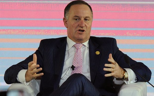Prime Minister John Key at the 2015 APEC conference in Manila.