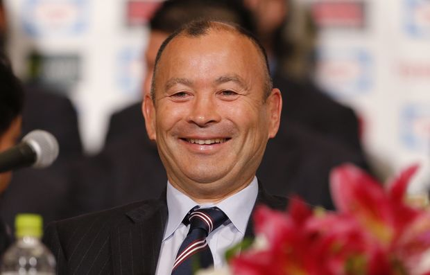 Rugby coach Eddie Jones