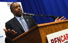 US Republican Party candidate Ben Carson