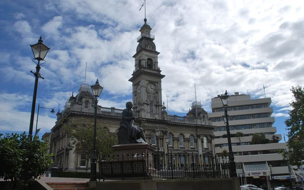 Dunedin Town Hall - one of venues hosting Ngāi Tahu festival events.