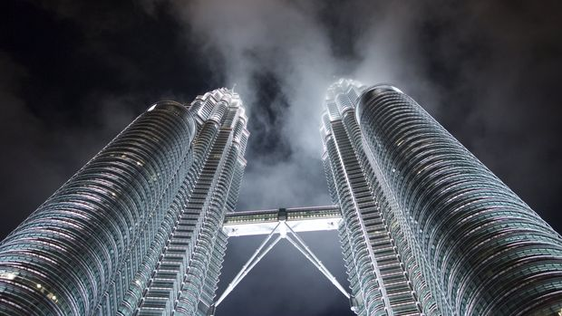 The Petronas Twin Towers are seen at night in Kuala Lumpur November 20, 2015. The Malaysian city hosts the 27th Association of South East Asian Nations (ASEAN) Summit