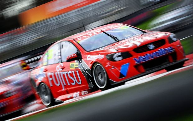 Scott McLaughlin in action in his Volvo