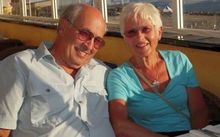 Helicopter crash victims Nigel and Helen Charlton